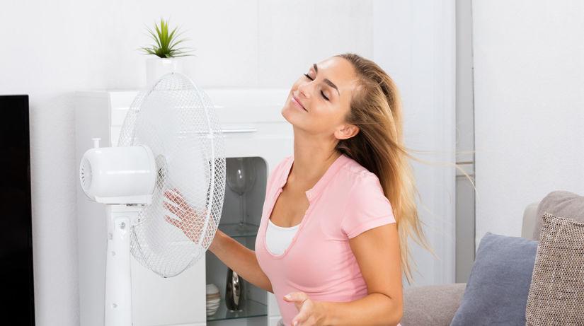 ventilátor, chlad, bývanie
