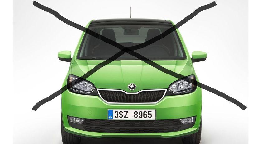 Škoda Citigo - koniec výroby