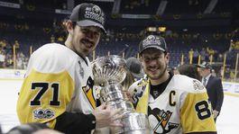 Jevgenij Malkin, Sidney Crosby