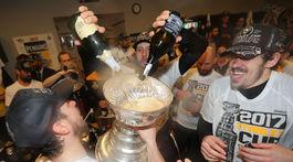 Nick Bonino, Sidney Crosby, Jevgenij Malkin