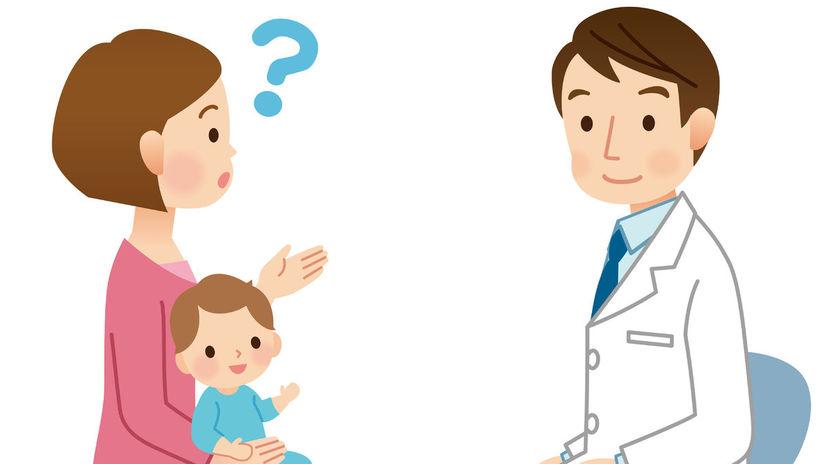 otázky, odpovede, dieťa, lekár