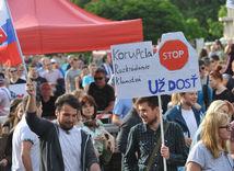prešov, protikorupčný pochod