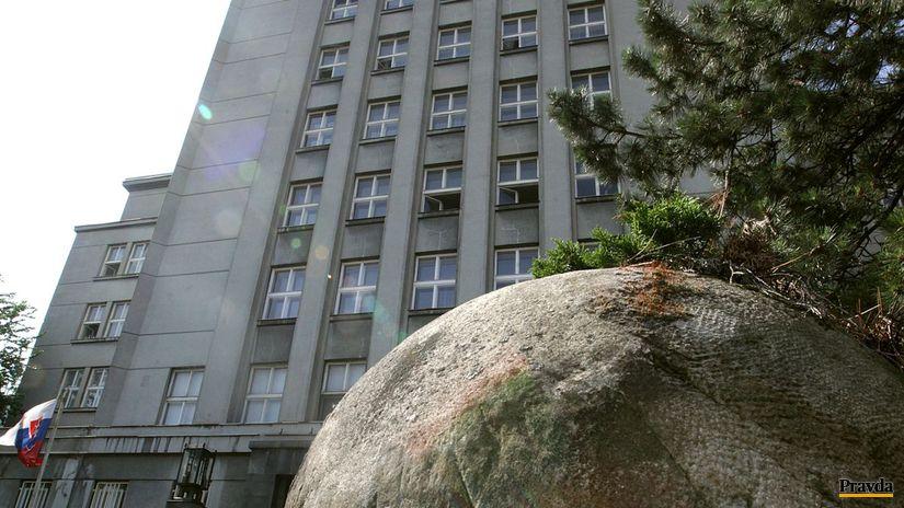 ministerstvo vnutra, budova
