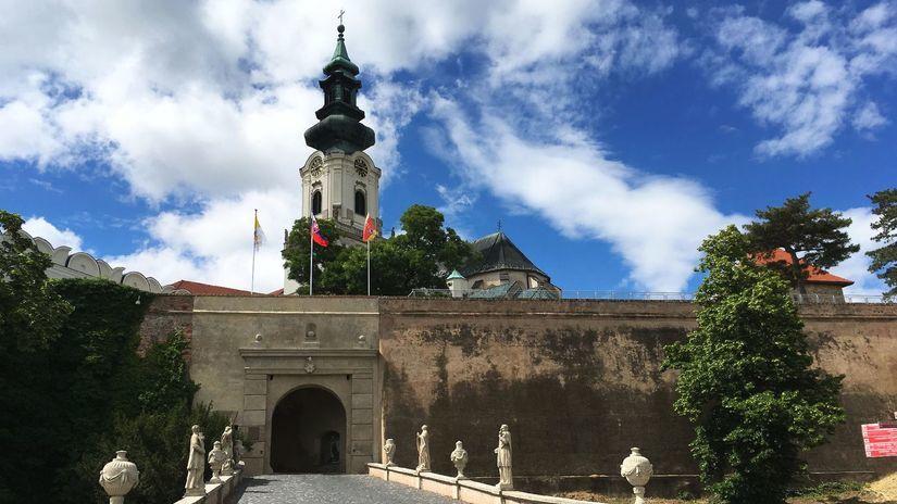 Nitra, hrad,
