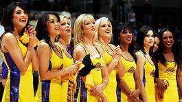 Roztlieskavačky, NBA