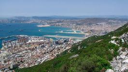 Gibraltár, more, prístav