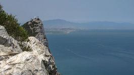 Gibraltár, more, skala