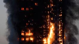 Londýn, požiar