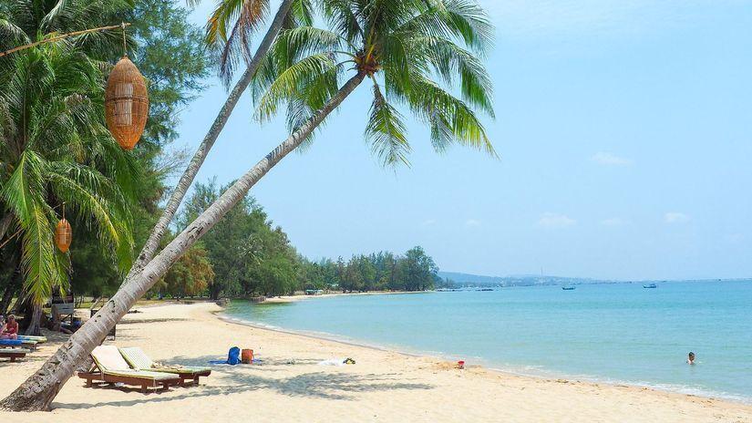 Coco beach, pláž, palma, exotika, Phu Quoc...