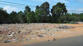 ostrov Phu Quoc, Vietnam, exotika, odpad, smetisko, smeti