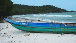 ostrov Phu Quoc, Vietnam, exotika, pláž, dovolenka, loď, čln, leto, plávanie