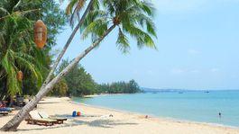 ostrov Phu Quoc, Vietnam, exotika, pláž, dovolenka, palma, cestovanie, leto