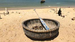 ostrov Phu Quoc, Vietnam, exotika, rybárska loď, veslo