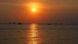 ostrov Phu Quoc, Vietnam, exotika, západ slnka, večer, dovolenka, cestovanie,
