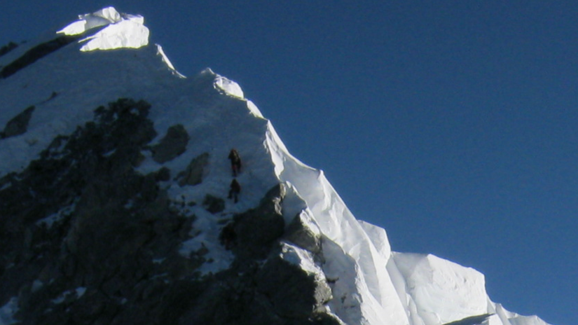 everest, hillaryho výšvih, horolezci
