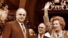 Helmut Kohl, Margaret Thatcher