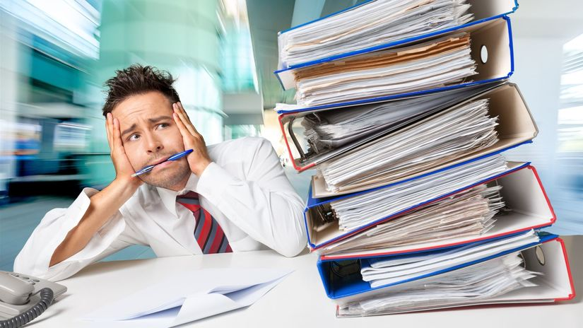 práca, stres, napätie, únava, prepracovanosť,...