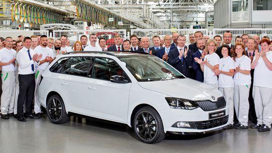 Škoda Fabia: Na konte má 4 000 000 vyrobených kusov