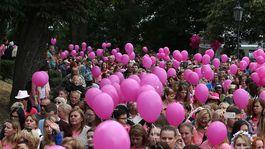 Tri tisícky ľudí sa zúčastnili na 9. ročníku charitatívneho podujatia AVON Pochod proti rakovine prsníka.