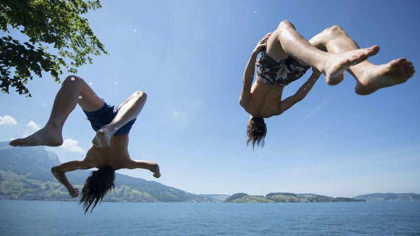 leto, voda, kúpanie, dovolenka, plávanie,...