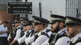 londýn, britská polícia, polícia, útok pri mešite,