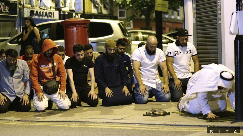 londýn, útok pri mešite, moslimovia, arabi,