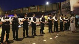 polícia, britská polícia, útok pri mešite, londýn,