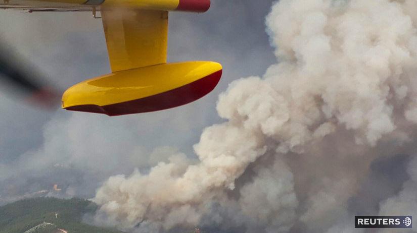 portugalsko, požiar, požiare, lesné požiare,