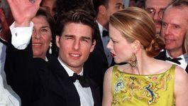 Rok 1997: Herečka Nicole Kidman a jej vtedajší manžel Tom Cruise.