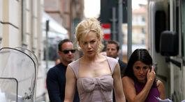 Rok 2006: Herečka Nicole Kidman v Ríme.