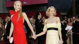 Rok 2007: Herečka Nicole Kidman a jej kamarátka Naomi Watts