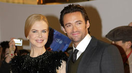 Rok 2009: Herečka Nicole Kidman a jej kolega Hugh Jackman