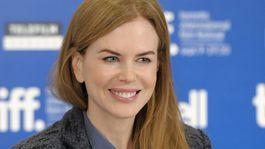 Rok 2010: Herečka Nicole Kidman na tlačovej konferencii v Toronte.