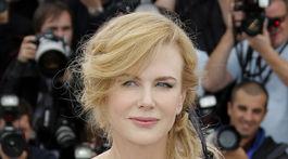 Rok 2013: Herečka Nicole Kidman na filmovom festivale v Cannes.