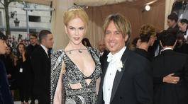 Rok 2016: Herečka Nicole Kidman a jej manžel Keith Urban