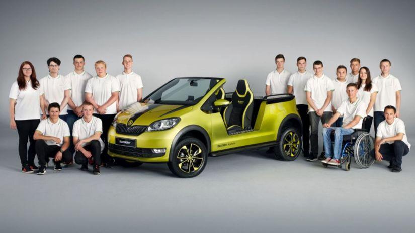 Škoda Element - študentský projekt 2017