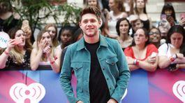 Spevák Niall Horan na vyhlásení cien iHeartRadio MuchMusic Video Awards.