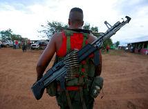 Kolumbia, vojak, strelec, FARC