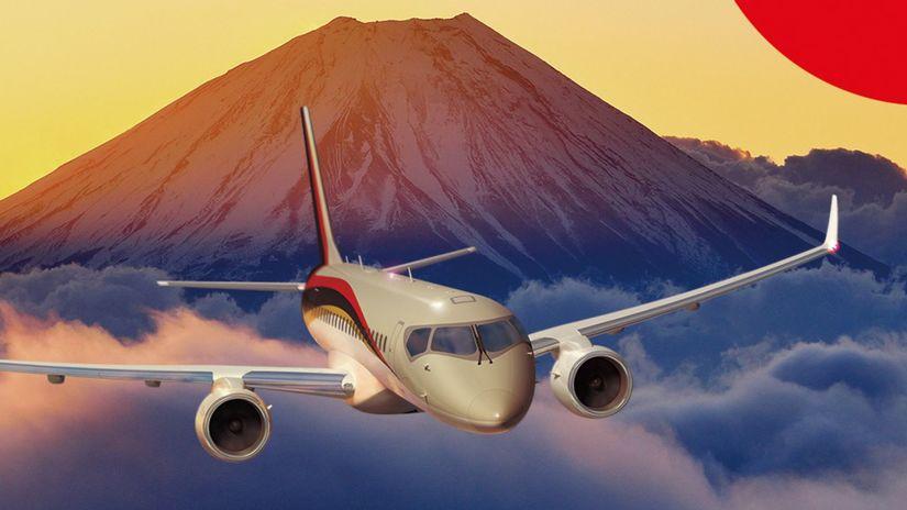 Mitsubishi - lietadlo MRJ