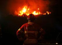 portugalsko, hasič, požiar, oheň,