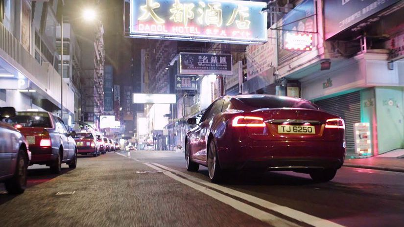 Tesla - Hongkong