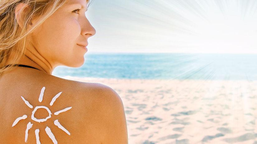 leto, slnko, koža, opalovanie
