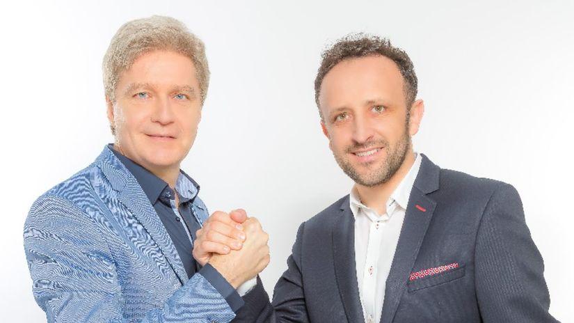 Štefan Skrúcaný a Ondrej Kandráč