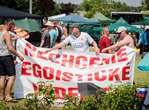 Štrajk vo VW pokračuje. Odbory pod 13,9 % zvýšenia nepôjdu