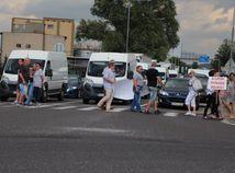 protest, dilanica, liptov, ruzomberok