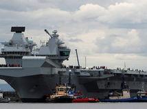 lietadlová loď, loď, Queen Elizabeth