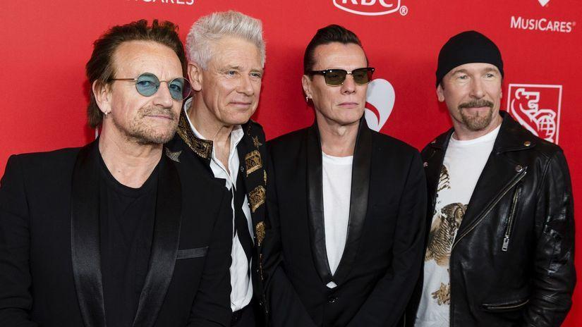 Bono Adam Clayton Larry Mullen Edge U2
