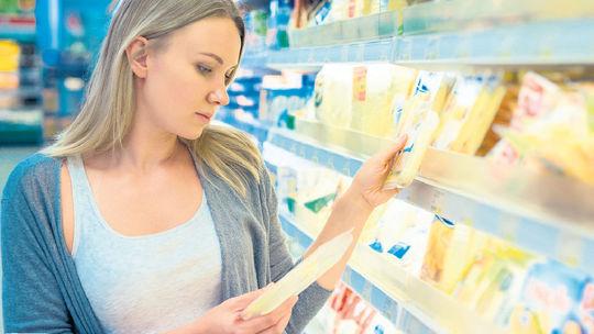 spotreba mliečnych výrobkov, infografika