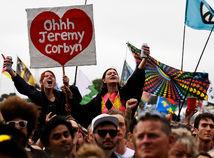 Glastonbury, corbyn