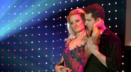 Moderátorka Adela Banášová a jej dlhoročný partner - tanečník Peter Modrovský.